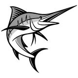Swordfish Illustration Royalty Free Stock Images