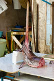 Swordfish at the market in Sicily Royalty Free Stock Photo