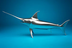 The swordfish model. Stock Photos