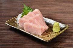 Swordfish  sashimi Royalty Free Stock Photos
