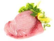 Swordfish stek surowy obraz royalty free