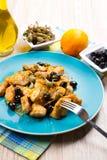 Swordfish stew Stock Images