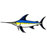 Swordfish Trophy Royalty Free Stock Images