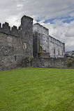 Swords Castle. The Entrance into Swords castle in the Irish town of Swords county Meath Southern Ireland. The Castle was built around the 1200's for the royalty free stock photo