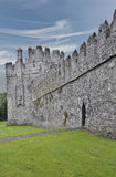 Swords Castle. Was built in the Irish town of Swords for the Archbishop of Dublin around 1200. County Meath Southern Ireland Stock Image