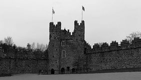 Swords castle. Ireland royalty free stock images