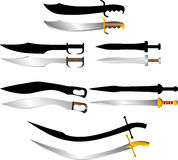 Swords and sabers Royalty Free Stock Photo