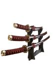 Swords of the Samurai Royalty Free Stock Photo