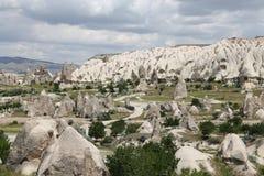 Swords valley in Cappadocia. Nevsehir City, Turkey Royalty Free Stock Photos