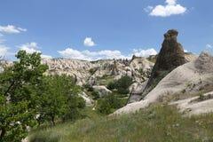 Swords valley in Cappadocia. Nevsehir City, Turkey Stock Photos