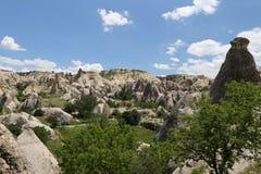 Swords valley in Cappadocia Stock Photo