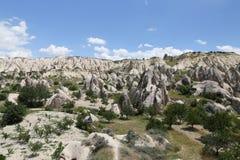 Swords valley in Cappadocia Stock Images