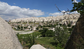 Swords valley in Cappadocia Royalty Free Stock Images