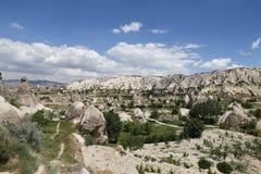 Swords valley in Cappadocia Royalty Free Stock Photo