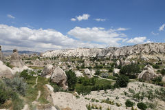 Swords valley in Cappadocia. Nevsehir City, Turkey Royalty Free Stock Photo