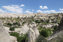 Swords valley in Cappadocia Royalty Free Stock Image