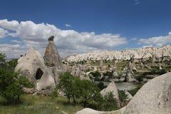 Swords valley in Cappadocia Royalty Free Stock Photos