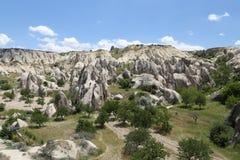 Swords valley in Cappadocia Royalty Free Stock Photography