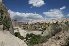 Swords valley in Cappadocia Stock Photos