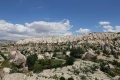 Swords valley in Cappadocia Stock Image