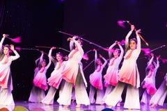 Swordsmanship dance-Chinese folk dance Stock Photography