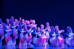 Swordsmanship dance-Chinese folk dance Stock Photo