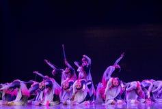 Swordsmanship dance-Chinese folk dance Stock Image