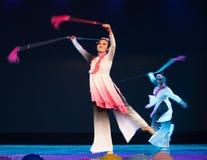 Swordsmanship dance-Chinese folk dance Royalty Free Stock Photo