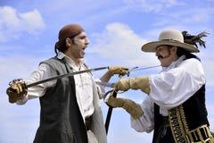Swordsmanship Royalty Free Stock Photo
