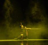 Swordsmanship-Qu Yuan-Chinese classical dance Royalty Free Stock Image
