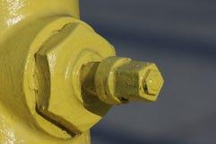 sworzniowy pożarniczy hydrant Zdjęcia Stock
