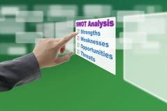 SWOT Analyse royalty-vrije stock fotografie