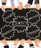 SWOT analysis Stock Image