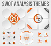 SWOT Analysis Themes Stock Photo