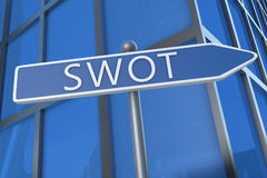 SWOT Concept Stock Image