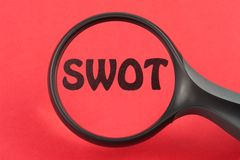 SWOT concept Royalty Free Stock Photos
