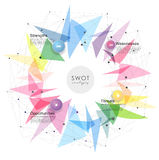 SWOT - Strengths Weaknesses Opportunities Threats Royalty Free Stock Photography