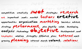 Swot Word Cloud Stock Images