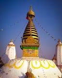 Swoyambhu Nath stupa fotografia royalty free