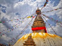 SwoyambhuNath Stupa Stock Image