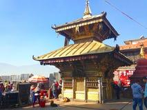 Swoyambhunathtempel in Katmandu Royalty-vrije Stock Fotografie