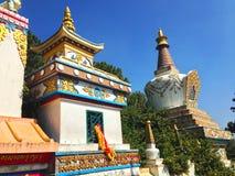 Swoyambhunathtempel in Katmandu Stock Foto