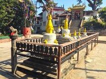 Swoyambhunathtempel in Katmandu Stock Fotografie