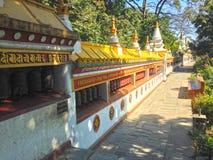 Swoyambhunathtempel in Katmandu Royalty-vrije Stock Afbeelding