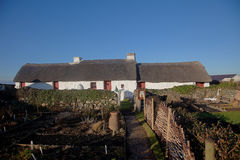 Swtan th eonly thatched building on Anglesey Stock Images
