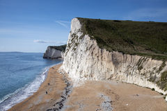 Swyre Head and Bat's Hole on Dorset's Jurassic Coast Stock Image