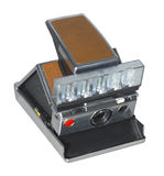 Sx 70 right. Old camera Royalty Free Stock Photography
