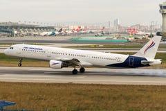 SX-BHT Air Moldova Aerobus A321-211 Obraz Stock