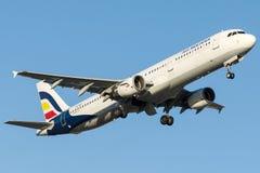 SX-BHT Air Moldova, Airbus A320 - 200 Imagem de Stock Royalty Free