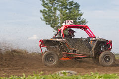 SXS RZR racing Stock Photography